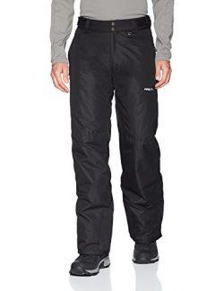 Arctix Men's Overalls Tundra Bib with Added Visibility,Black, Medium/Tall