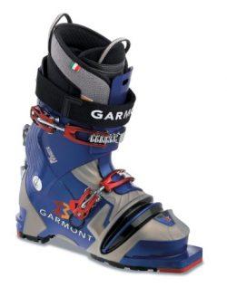Garmont Kenai Telemark Ski Boot (Blue/Grey Pearl, 27.0 Mondo)