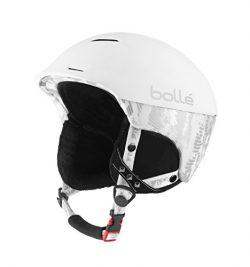 Bolle Synergy Ski Helmet (Soft White, 54-58-cm)