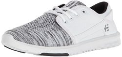 Etnies Women's Scout YB W's Skate Shoe, White, 9 Medium US