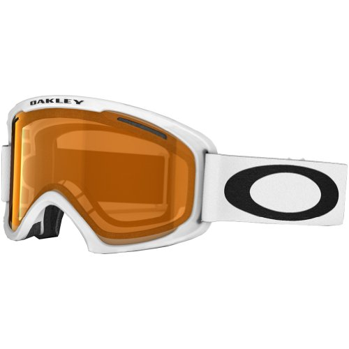 Oakley 02 XL Snow Goggle, Matte White with Persimmon Lens