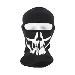yijiamaoyiyouxia Tactical Motorcycle Cycling Hunting Outdoor Ski Face Mask Helmet (D)