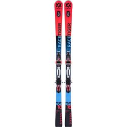 Volkl 2018 Racetiger GS UVO Skis w/rMotion Bindings (180)