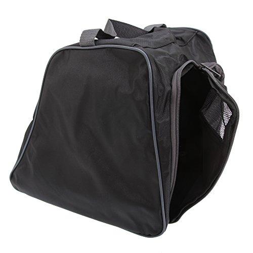Quadra Hiking Boot/Shoe Bag – 14 Liters (One Size) (Black/Graphite)