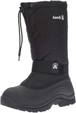 Kamik Men's Greenbay 4 Cold Weather Boot,Black,13 M