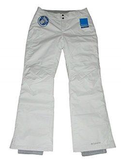 Columbia Womens Arctic Trip Ski Snowboard Pants White (Short – Short)