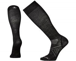 SmartWool Men's PhD Ski Ultra Light Socks (Black) Medium