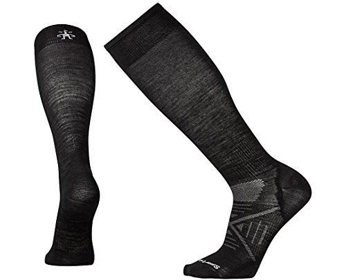 SmartWool Men's PhD Ski Ultra Light Socks (Black) Large