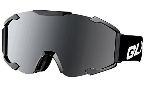 GLX Ski Snowboad Skate Goggles with Detachable Lens Wind Dust Scratch Resistant Anti-fog Safety  ...