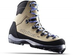 Alpina Sports Women's Montana Eve Backcountry Cross Country Nordic Ski Boots, Euro 36, Bro ...