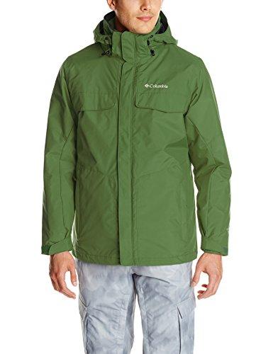 Columbia Men's Bugaboo Interchange Jacket, Dark Backcountry, XX-Large