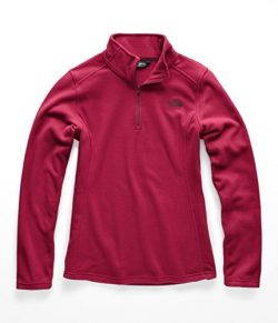 The North Face Women Glacier 1 & 4 Zip – Rumba Red – XL
