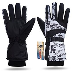 iColor Snowboard Gloves Winter Warm Ski Golve for Outdoor Sports Skiing Sledding Warm Windproof  ...