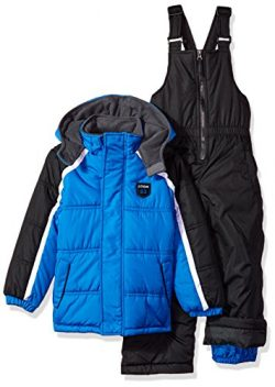 iXtreme Little Boys' Active Colorblock Snowsuit, Royal Colorblock, 5