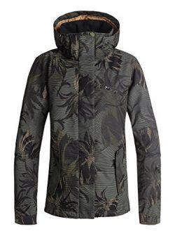 Roxy Snow Junior's Jetty Jacket, Four Leaf Clover_SWELL Flowers, S