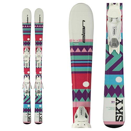 Elan Sky Kids Skis with EL 4.5 Bindings 2018 – 90cm