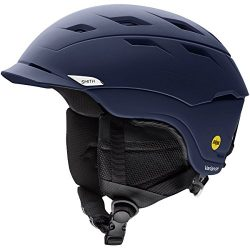 Smith Optics Variance-Mips Adult Ski Snowmobile Helmet – Matte Ink/Large