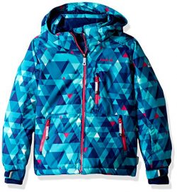 Kamik Winter Apparel Girls Aria freefall Jacket, Capri, 6